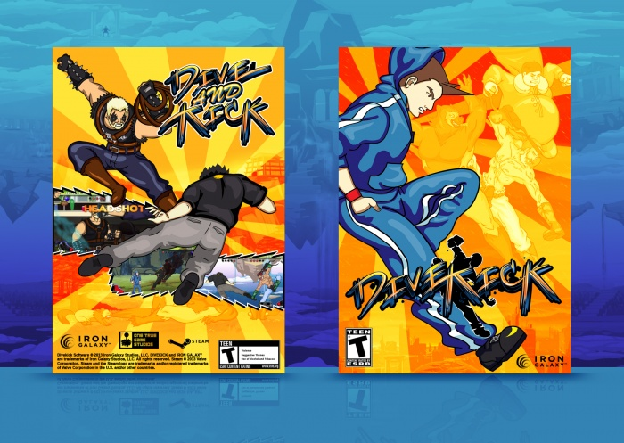 Divekick box art cover