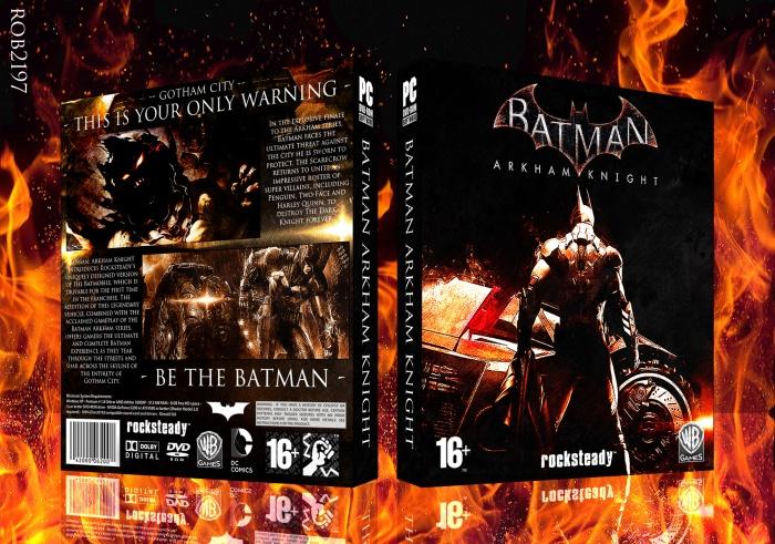 Batman Arkham Knight PC Box Art Cover by rob2197