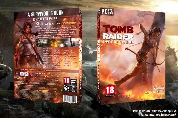tomb raider game of the year edition pc español