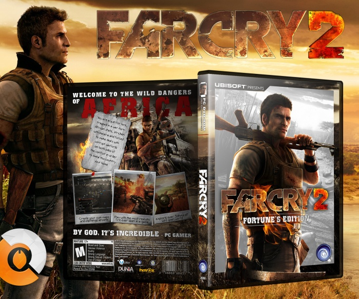 Far Cry 2 Pc Box Art Cover By Andra C Diogo