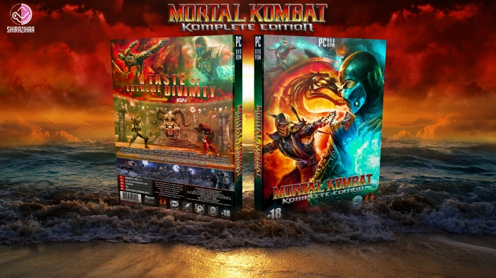 Mortal Kombat: Komplete Edition box art cover