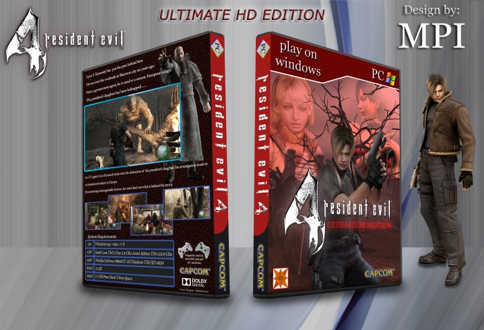 Resident Evil Ultimate HD Edition box art cover