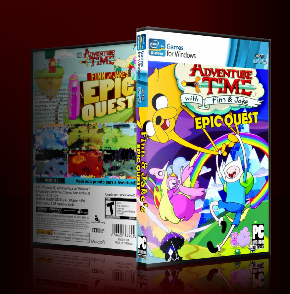 PC » Finn And Jake's: Epic Quest Box Cover