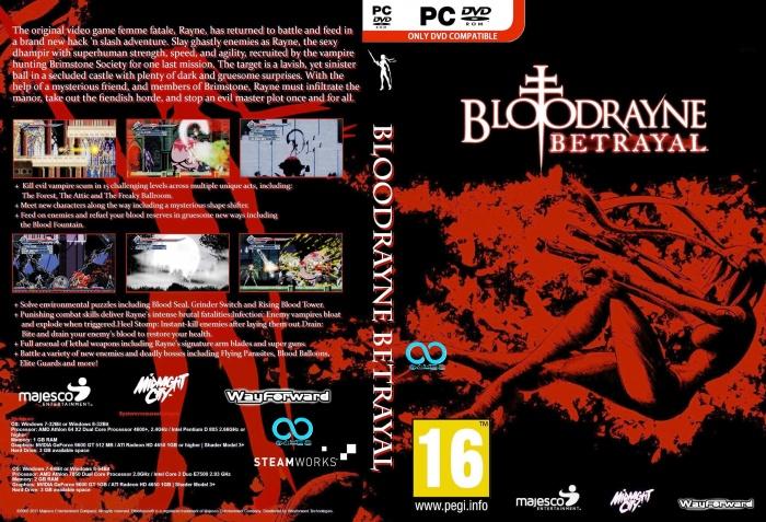 Bloodrayne Betrayal Pc Box Art Cover By Juan666