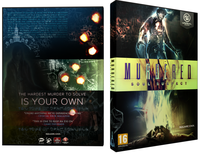 Murdered: Soul Suspect box art cover