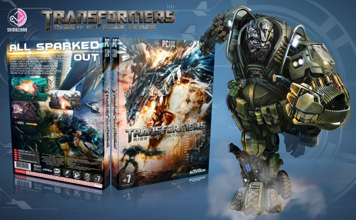 Transformers Rise Of The Dark Spark Pc Box Art Cover By Shirazihaa