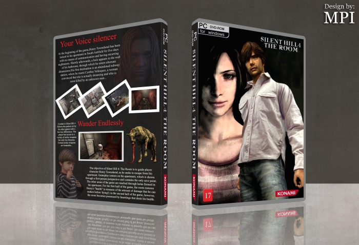 Silent Hill 4 The Room box art cover