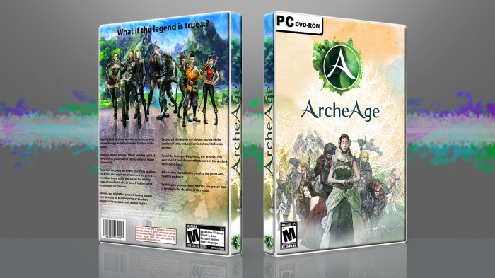 Archeage box art cover
