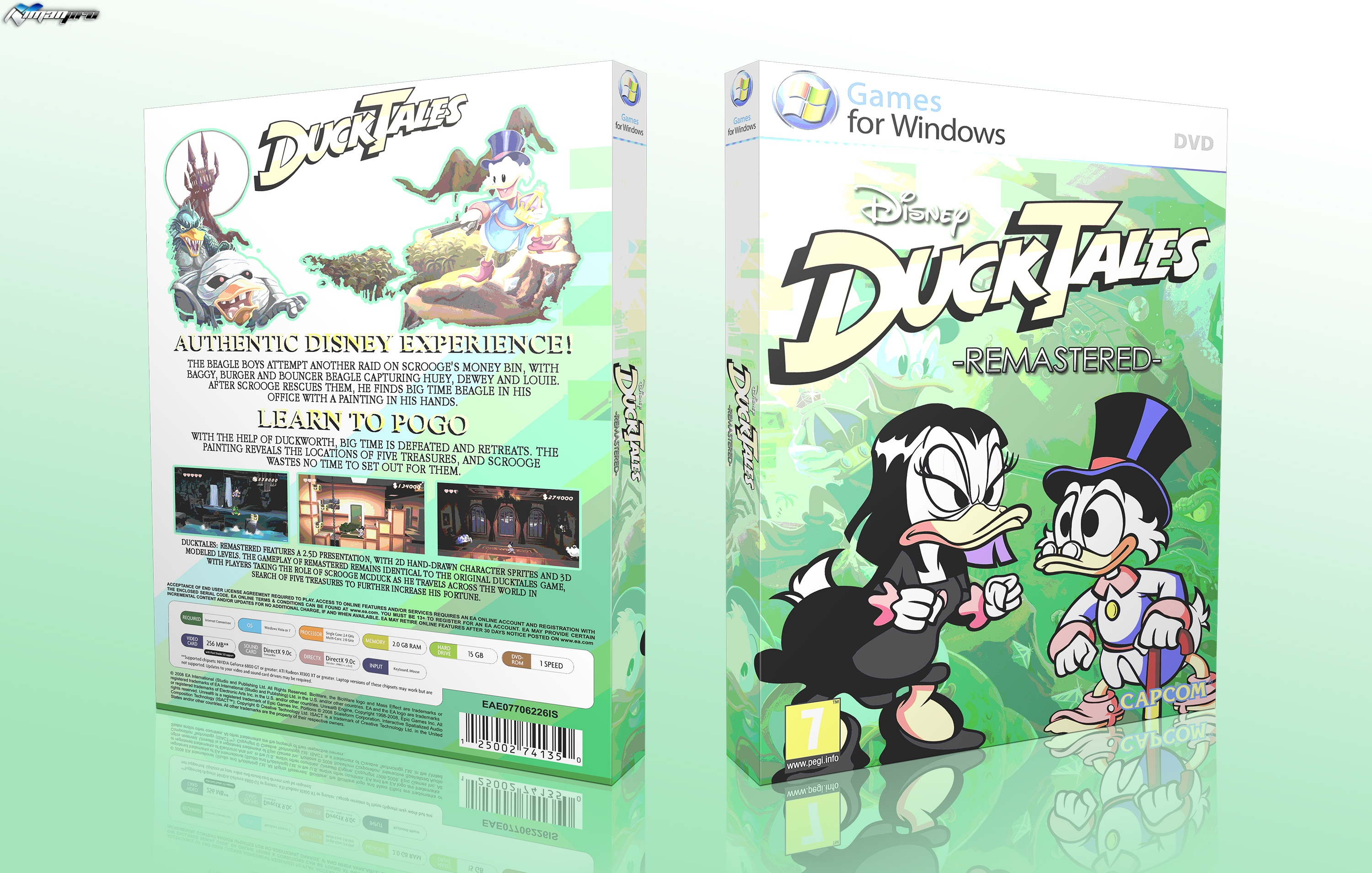 Duck Tales Remastered box cover