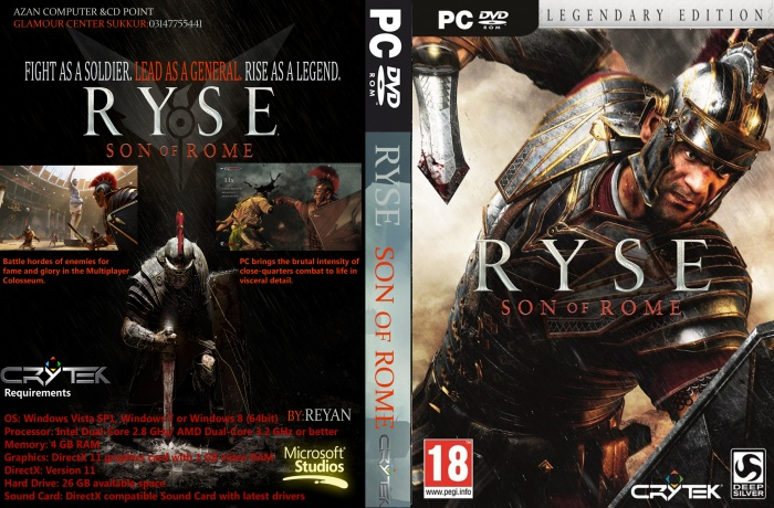 Ryse: Son of Rome (2014/RUS/ENG) RePack by R.G. Mechanics