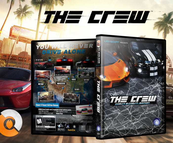 The Crew box art cover