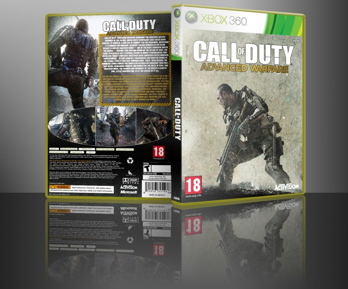 Call of Duty Advanced Warfare PC Box Art Cover by alfered ...
