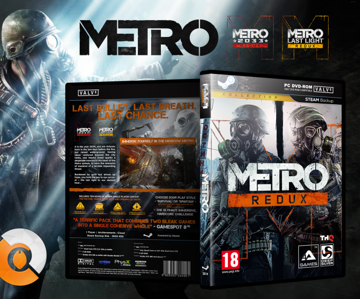 Metro: Redux box art cover