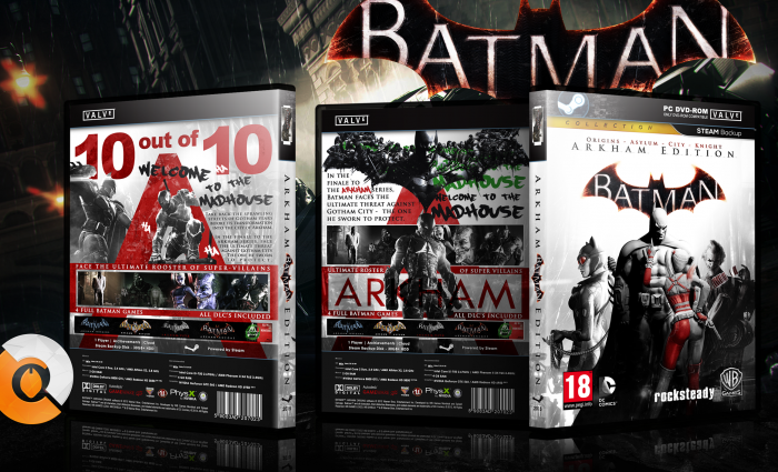 Batman Arkham Collection box art cover