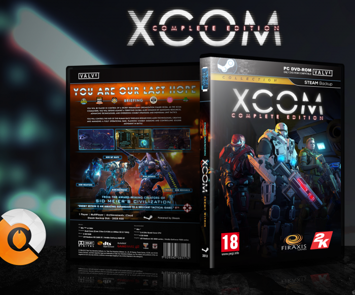 XCOM: Complete Edition box art cover