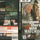 GRAND THEFT AUTO IV  WATCH DOGS Box Art Cover