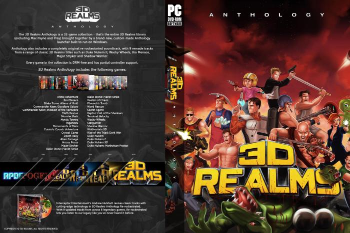 3d realms anthology   delisted games.
