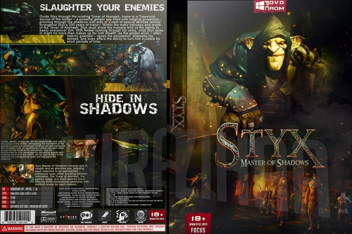 Styx: Master of Shadows box art cover