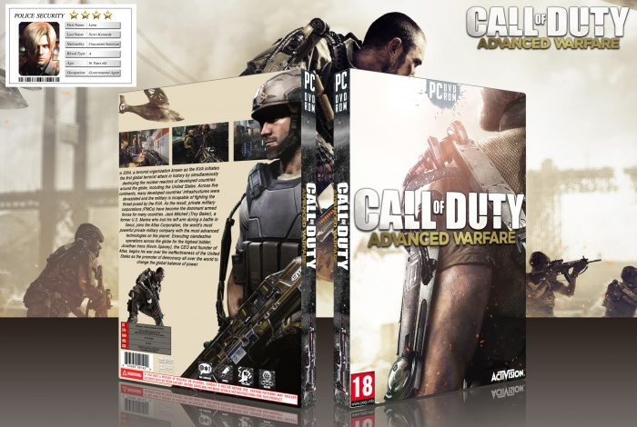 Call of Duty Advanced Warfare box art cover