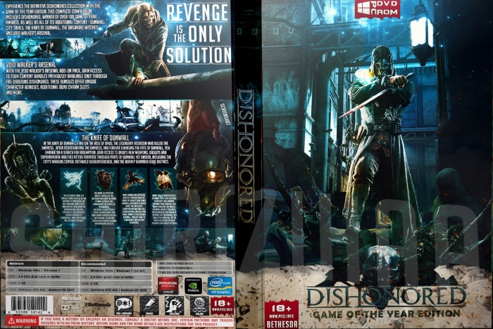 Dishonored Game Of The Year Edition REPACK - 5 Gb | Pc ...