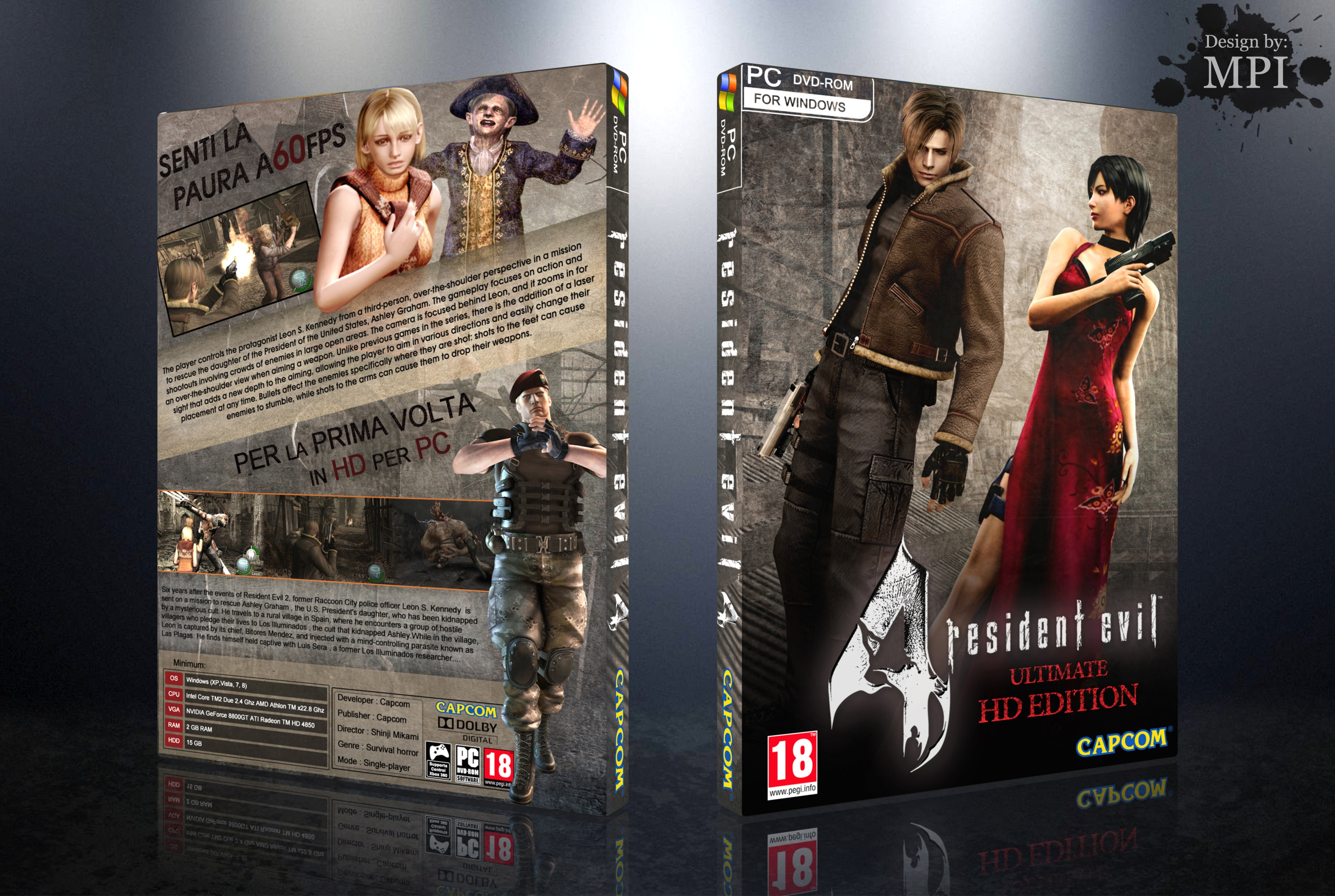 Resident Evil 4 Ultimate HD Edition box cover
