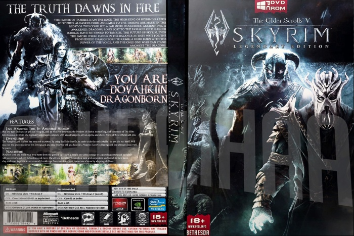 Elder scrolls 5 skyrim legendary edition pc