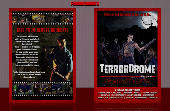 Terrordrome box art cover