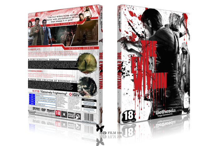 TEH Evil Within box art cover
