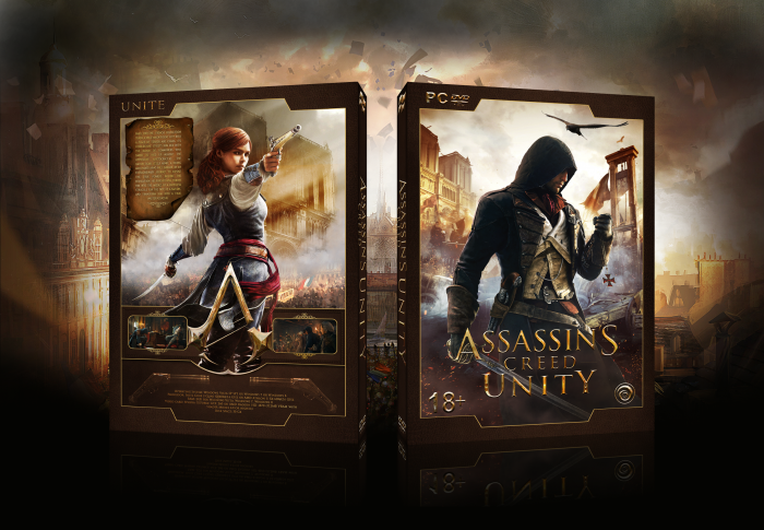 Assassin's Creed: Unity box art cover
