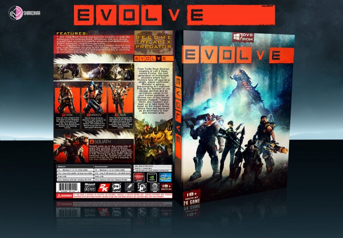 Evolve box art cover