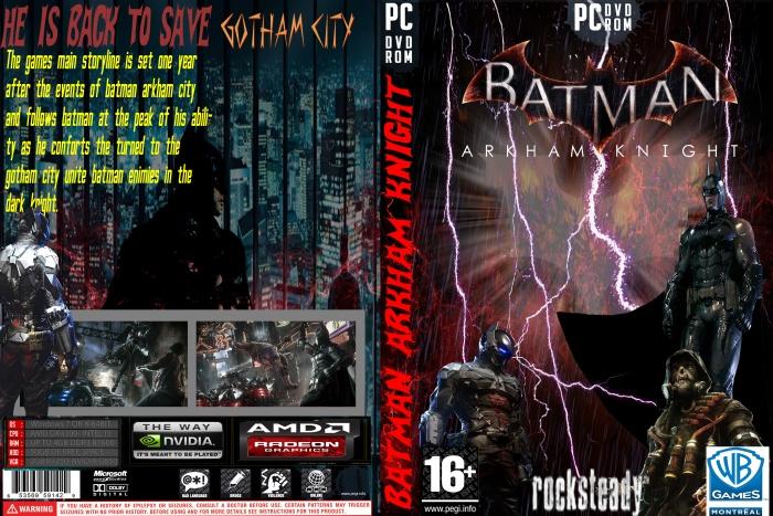 Batman Arkham Knight PC Box Art Cover by Dheeraj