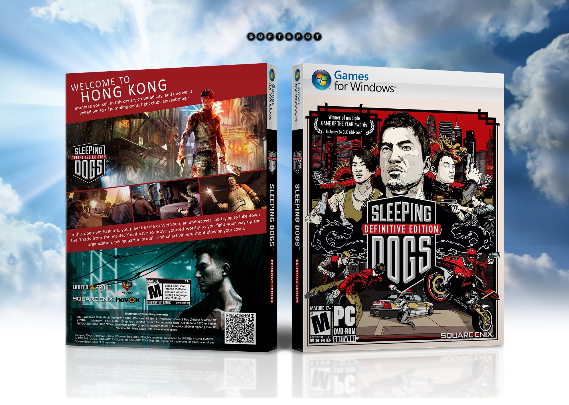 Sleeping Dogs: Definitive Edition box cover