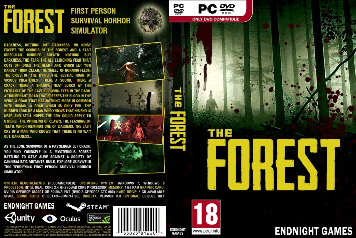 The Forest box art cover