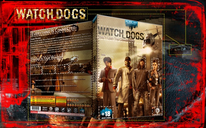 Watch Dogs box art cover