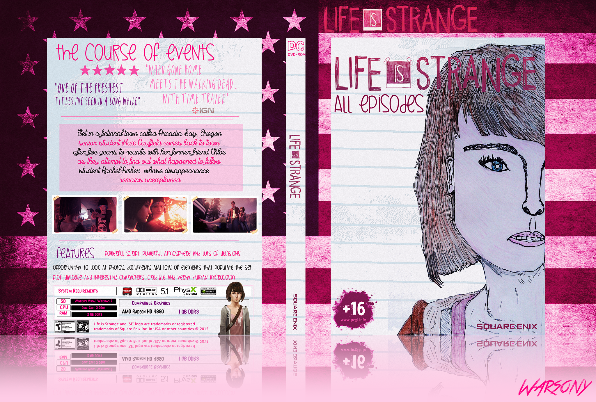 Life Is Strange - All Episodes box cover