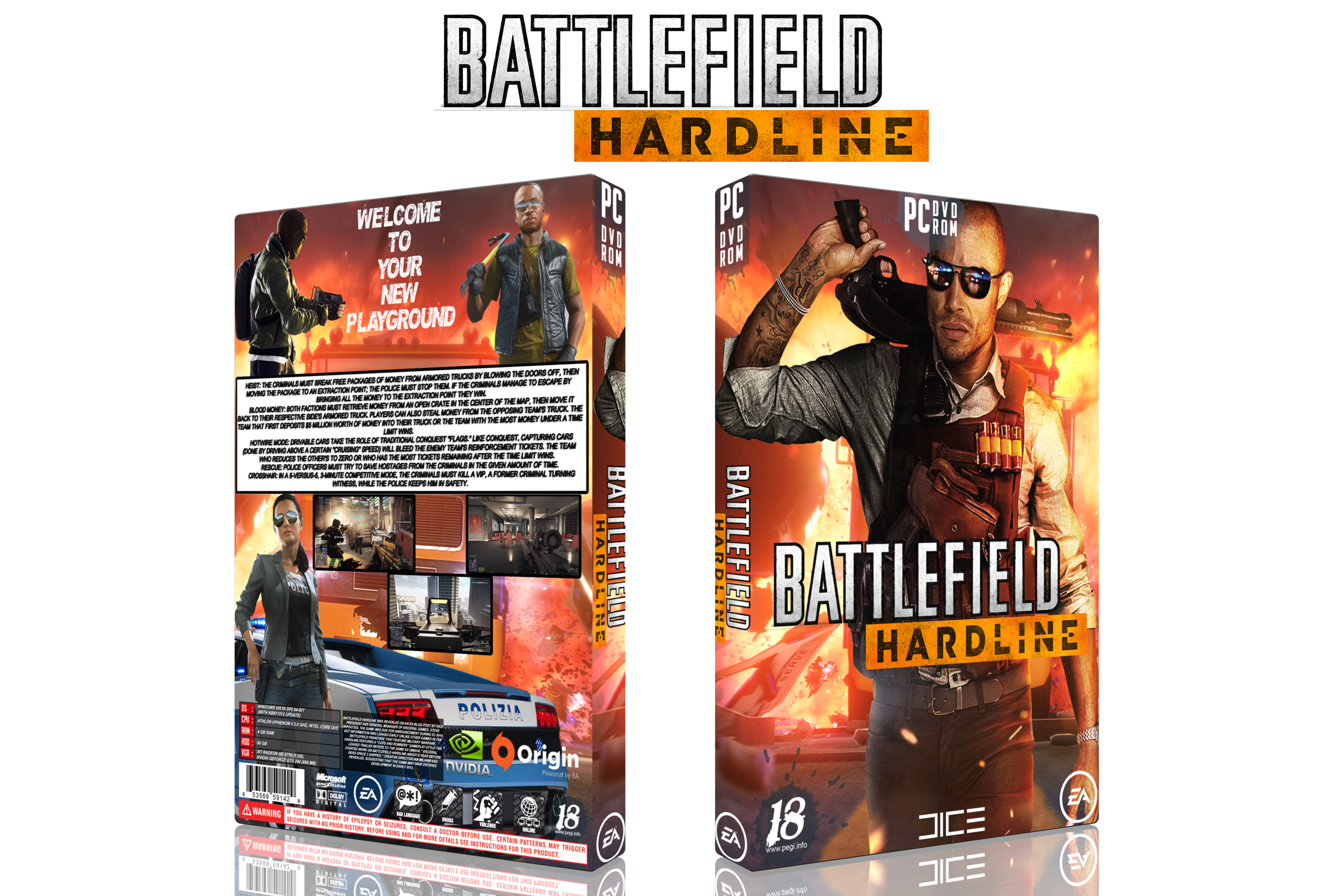 Battlefield HardLine box cover