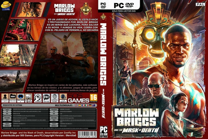 Marlove briggs box art cover