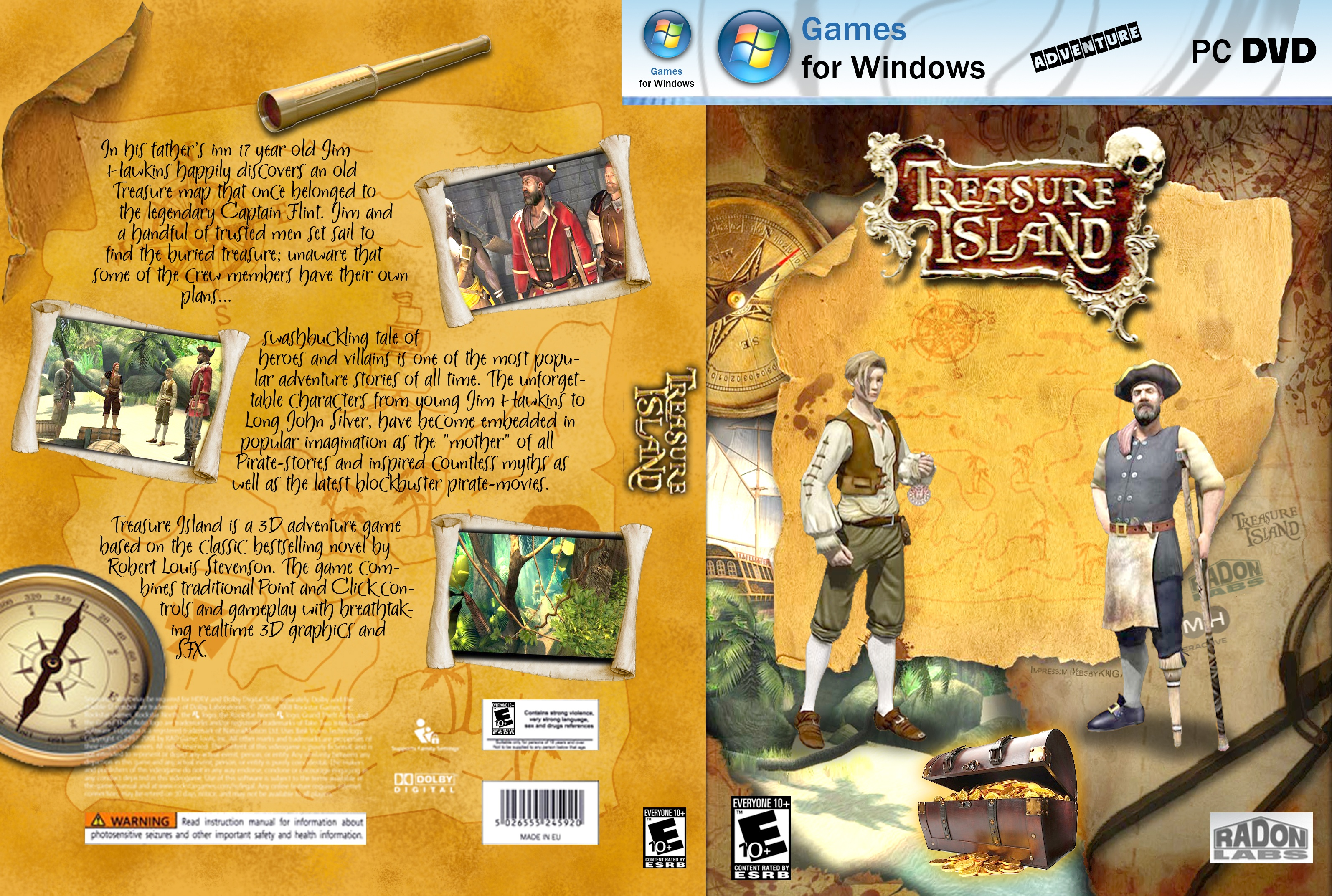 treasure island conflict of story Summary of treasure island treasure island by robert louis stevenson tells the story of jim, a young boy who watches over an inn in an english seaside town with his mother and his gravely ill.
