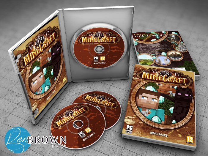 World of Minecraft box art cover