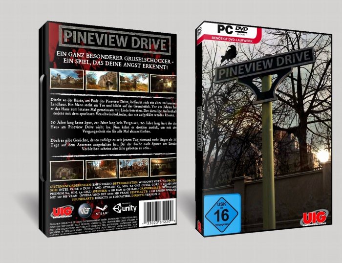 Pineview Drive box art cover