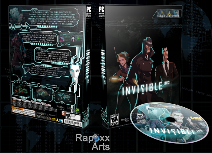 Invisible Inc. box art cover