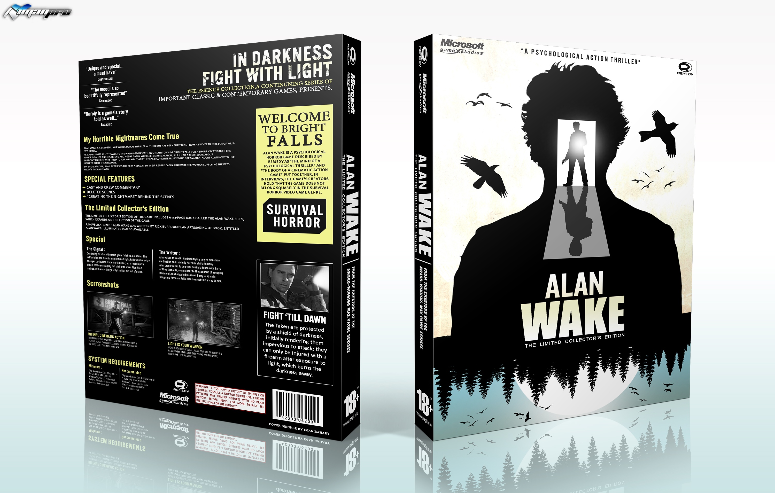 Alan Wake : Limited Collector's Edition box cover