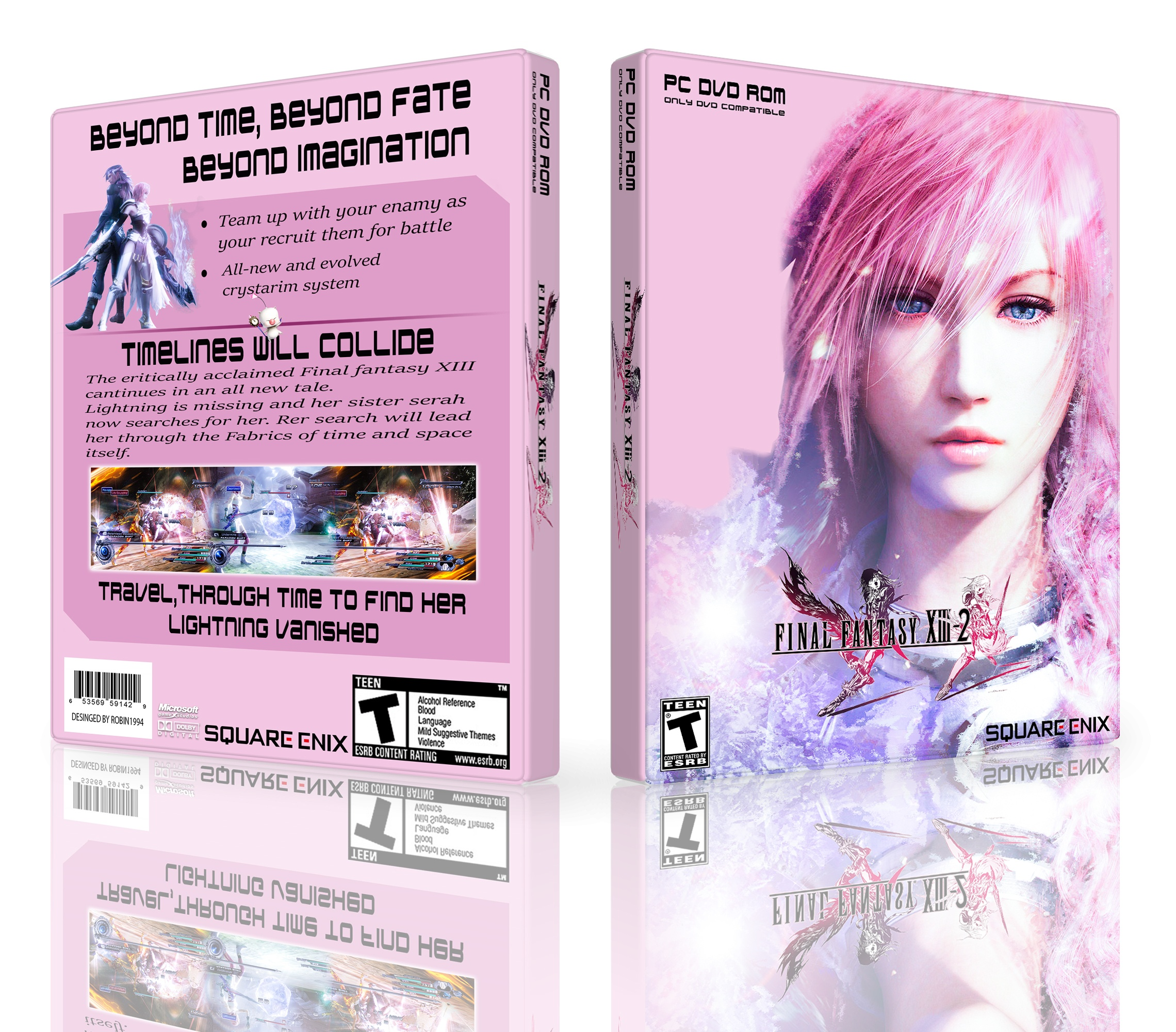 Final Fantasy XIII - 2 box cover