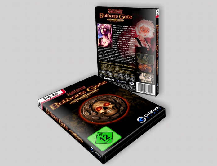 Baldur's Gate  Enhanced Edition box art cover