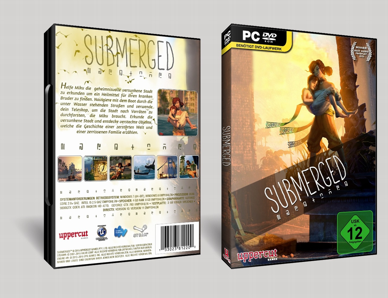 Submerged box cover