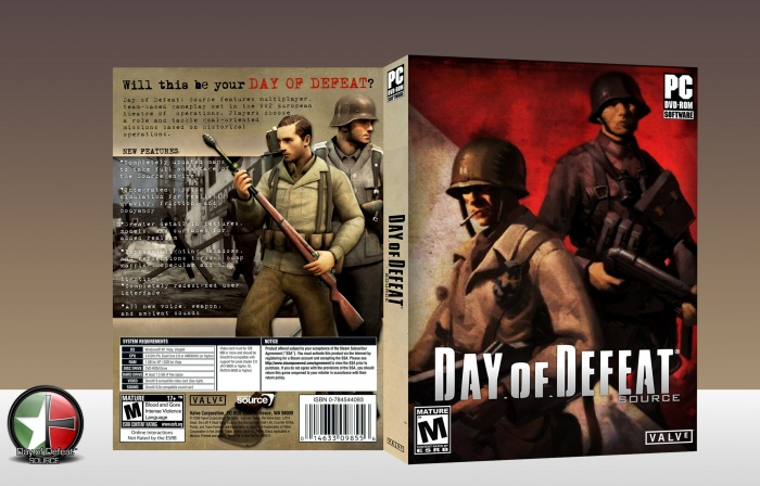 Day of defeat source box art cover