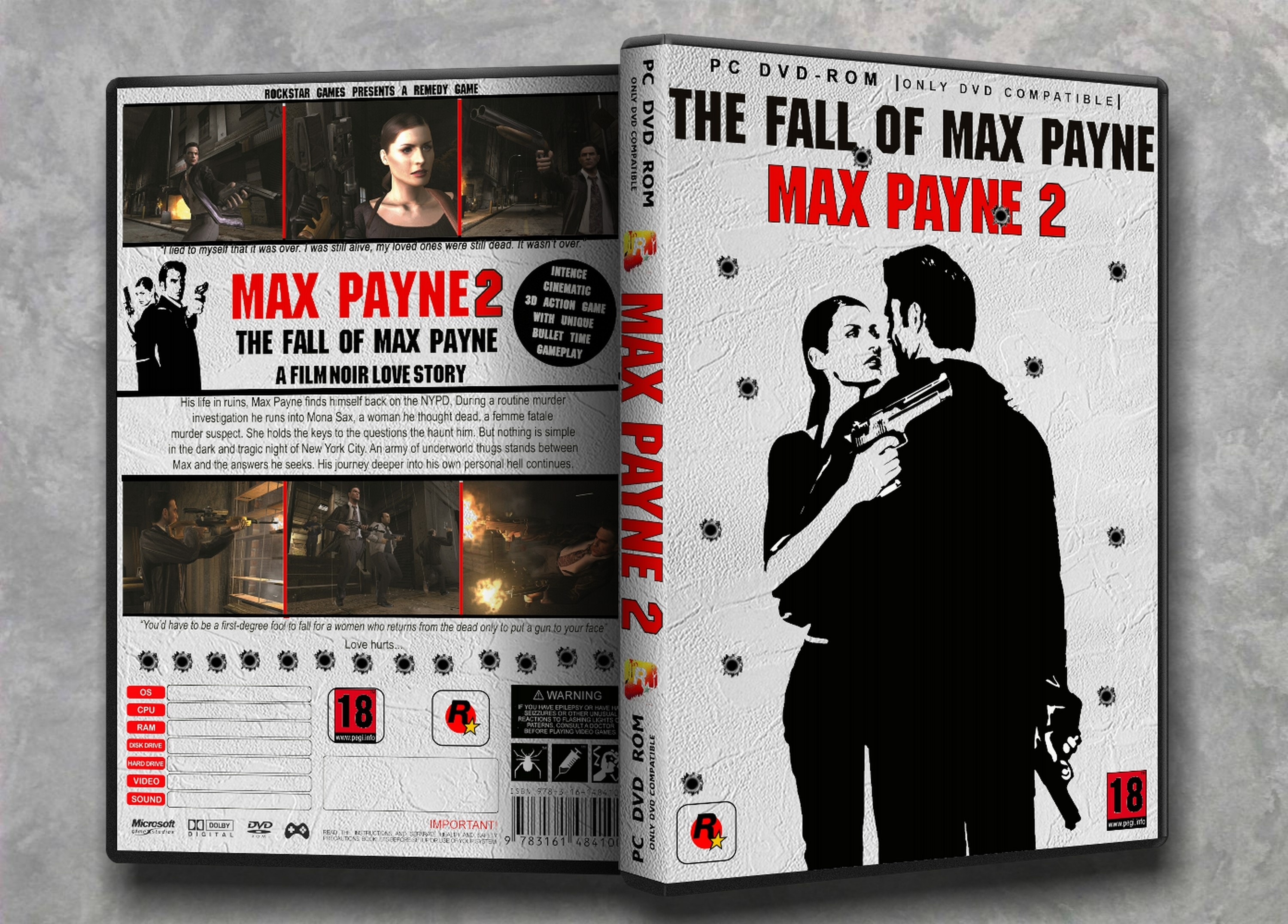 Max Payne 2 : The Fall Of Max Payne box cover