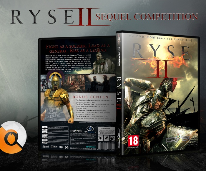 Ryse II box art cover