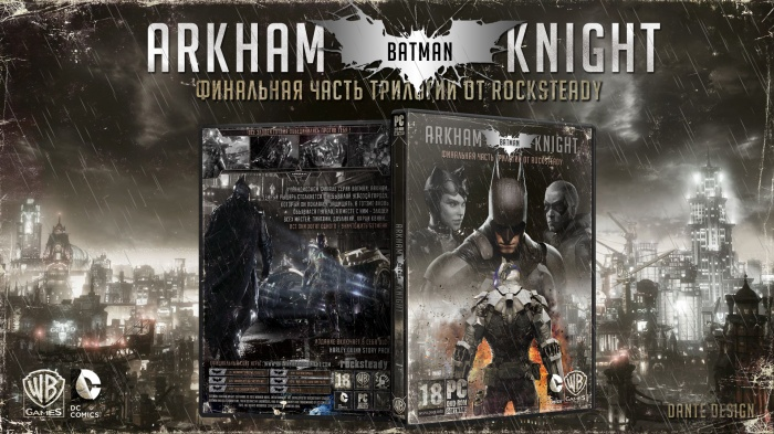 Batman Arkham Knight box art cover