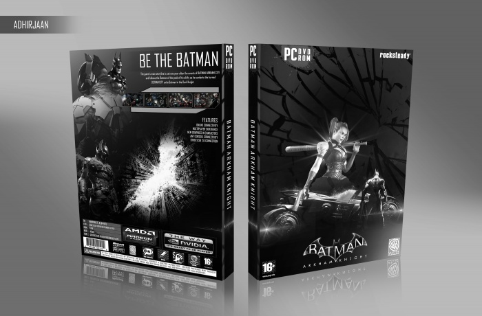 Batman Arkham Knight PC Box Art Cover by adhirjaan